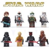 8 pièces SY Star Wars formation du caractère bloc compatibles avec Lego mini-figurines SY198 compatibles
