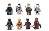 8 pièces SY Star Wars mini-figurines