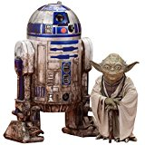 ARTFX+ STAR WARS YODA & R2-D2 DAGOBAH PACK 1/10 Scale PVC Painted FigureKOTOBUKIYA