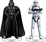 Figurine pour gâteau - Star Wars - 2 pièces - Dekora