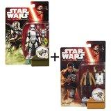 Figurine Star Wars VII - Pack Finn/Captain Phasma