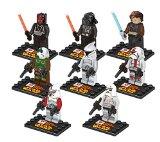 Figurines Star Wars Dark Vador 8 pièces compatible LEGO