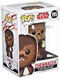 Funko 14748 POP! Bobble - Star Wars - E8 TLJ - Chewbacca With Porg