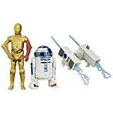 Hasbro ? B3957 ? Star Wars ? R2-D2 & C-3PO ? 2 Figurines 9 cm + Accessoires
