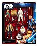 Hasbro ? B6815 ? Star Wars : The Force Awakens ? Rencoontre sur Takodana ? Pack 3 Figurines 9,5cm