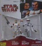 Hasbro - Figurine Star wars Under the Helmet: Cody & Echo