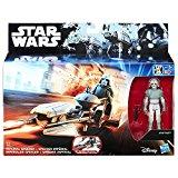 Hasbro - Star Wars Rebels - Pilote AT-DP & Speeder Impérial - Figurine 9cm + Véhicule