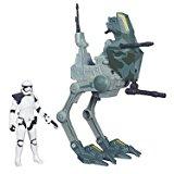 Hasbro ? Star Wars Rebels ? Sergeant Stormtrooper & Assault Walker ? Figurine 9 cm + Véhicule