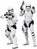 Kotobukiya - SW107 - Pack de 2 Statues de Stormtrooper First Order - Issues de Star Wars Le réveil de la Force - Echelle 1/10