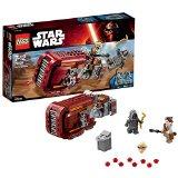 LEGO Star Wars - 75099 - Jeu De Construction - Rey's Speeder