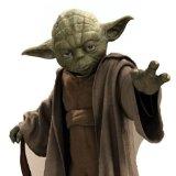 Silhouette En Carton Prédécoupée Géante Maître Yoda - Star Wars - Taille Unique