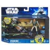 Star Wars - 29956 - Figurine - Castas With Speeder Bike