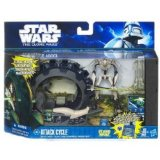 Star Wars - 29957 - Figurine - attack Cycle + General Grievous