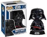 Star Wars - Figurine Darth Vader: Funko POP! Vinyle Grosse Tête sur un Support
