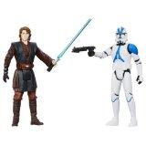 Star Wars - Mission Series - Coruscant - Anakin Skywalker & 501st Legion Trooper - Figurines 9 cm