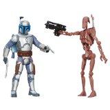 Star Wars - Mission Series - Geonosis - Battle Droid & Jango Fett - Figurines 9 cm