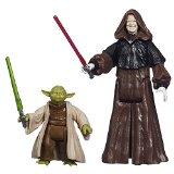 Star Wars - Mission Series - Yoda & Darth Sidious - Figurines 9 cm
