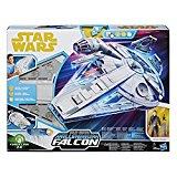 Star Wars - Playset Deluxe Han Solo Faucon Millenium avec Figurine, E0320EU5