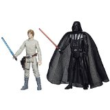 Star Wars Rebels - Mission Series - Luke Skywalker & Darth Vader - Figurines 9 cm