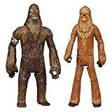 Star Wars Rebels - Wullffwarro & Guerrier Wookiee - 2 Figurines 10 cm