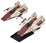 Maquette Bandai Hobby Star Wars Vehicle Model 010 A-Wing Star Fighter Set (Japan Import)