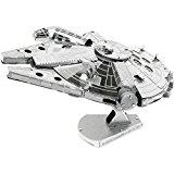 Metal Earth - 5061251 - Maquette 3D - Star Wars - Millennium Falcon - 7,13 x 5,55 x 4,56 cm - 2 pièces