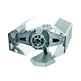 Metal Earth - 5061253 - Maquette 3D - Star Wars - Darth Vader's Tie Fighter - 7,6 x 6,8 x 2,5 cm - 2 pièces