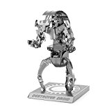 Metal Earth - 5061255 - Maquette 3D - Star Wars - Destroyer Droid - 5 x 4,9 x 8,6 cm - 2 pièces