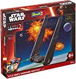 Revell - 06695 - Star Wars - Easy Kit - Kilo Ren's Command Shuttle - 53 Pièces