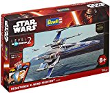 Revell - 06696 - Star Wars - Easy Kit - Resistance X-Wing Fighter - 55 Pièces