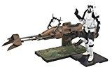 Star Wars 1/12 Scout Trooper and Speeder Bike (Japan Import)