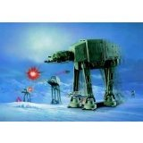 Star Wars AT-AT Snapfast Wind-up action Maquette AMT - 11 cm