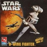 Star Wars maquette AMT / ERTL Model Kit B-Wing Fig