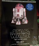 Star Wars R2-KT Pink Astromech Droid Maquette by Gentle Giant 2014 SDCC Comic Con Exclusive LTD 500 Rare !