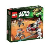 Lego Star Wars TM - 75000 - Jeu de Construction - Clone Troopers Vs Droïdekas