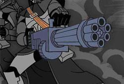 Canon blaster rotatif Z-6