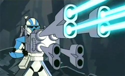 Reciprocating Quad Blaster