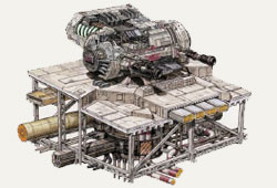 Turbolaser Lourd DBY-827