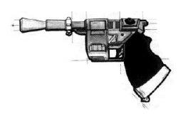 Pistolet blaster DL-22