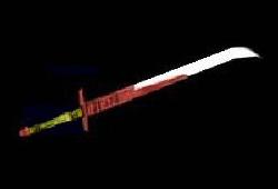 Epée de cérémonie de Bacca