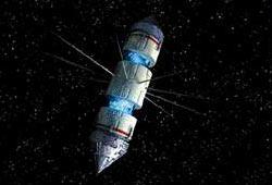 Mine orbitale