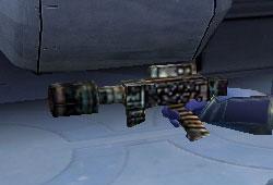 Pistolet désintégrateur