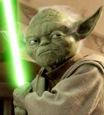 Sabre Laser de Yoda