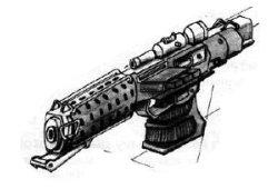 Pistolet Blaster Lourd Thunderer T-6