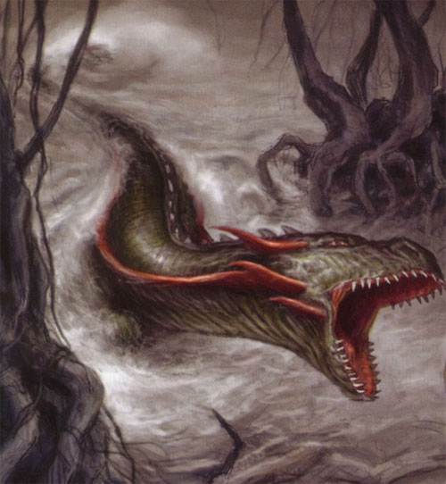 Serpent-dragon