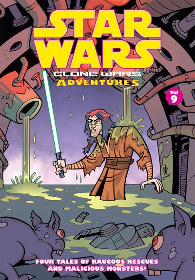 Clone Wars Adventures Vol. 09