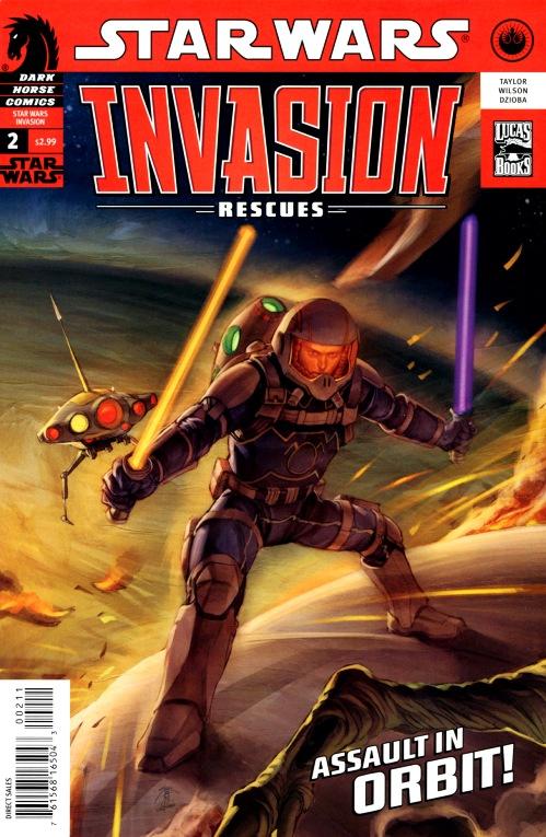 Invasion # 07 - Rescues #2