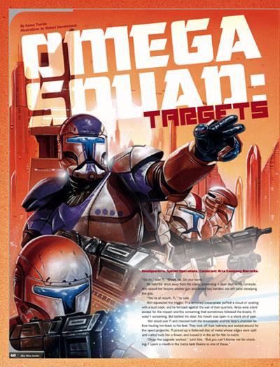 Omega Squad : Targets