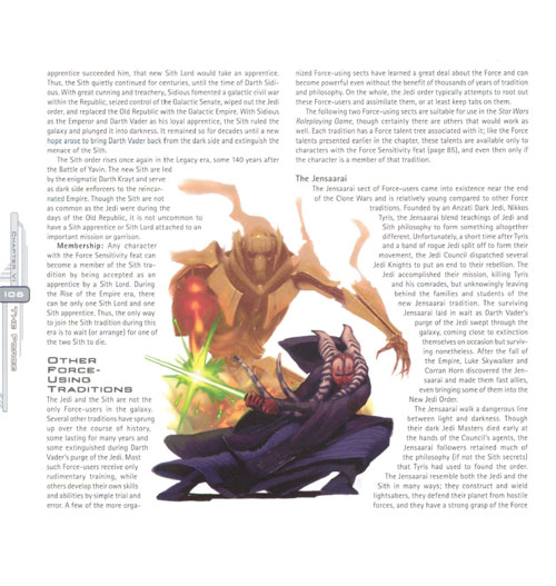 Roleplaying Game : Saga Edition Core Rulebook