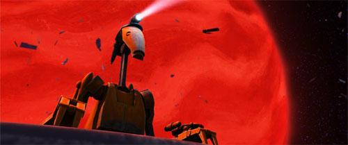 Droïde de combat spatial